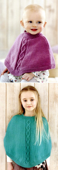 Sirdar Book 507 Snuggly Delights - Poncho Design 4702