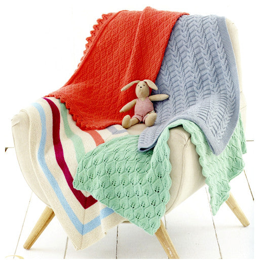 Sirdar Book 509 Snuggly Playtime - Blankets Design 4749