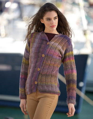 Katia Book 90 - Sport - Design 1 - Cardigan in Azteca Fine