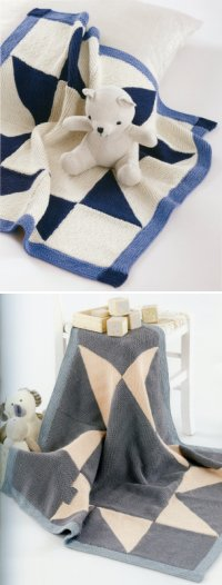 Sublime Book 683 - Little Petit Point Blanket and The Point Mousse Blanket