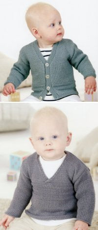 Sublime Book 683 - Rollo Cardigan and Pullover