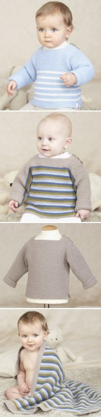 Sublime Book 689 Little Sailor and Little Ralphie Pullover and blanket