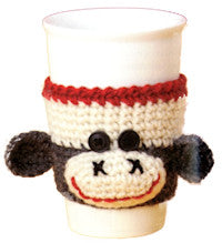 Patons Book 500889 - Monkey Around - Monkey Cup Cozy