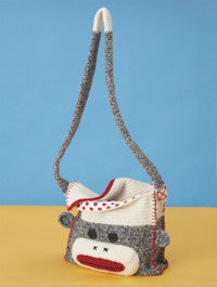 Patons Book 500889 - Monkey Around - Monkey Shoulder Bag