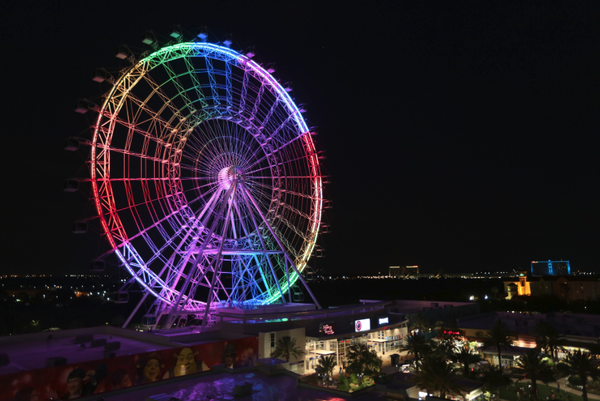 Eye of Orlando ferris wheel