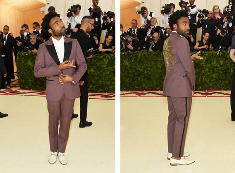 Donald Glover at the Met Gala