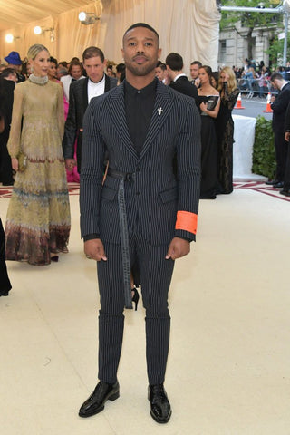 Michael B. Jordan at the Met Gala