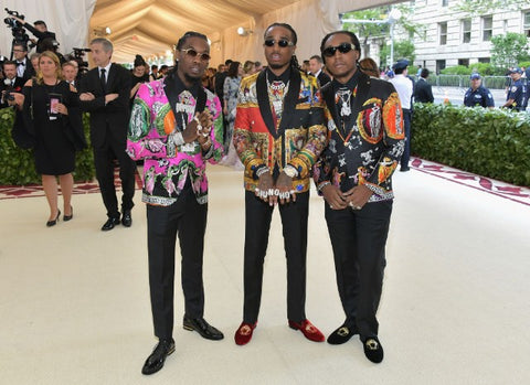 Migos at the Met Gala