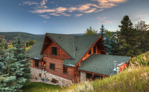 mountain home in Big Sky, MT
