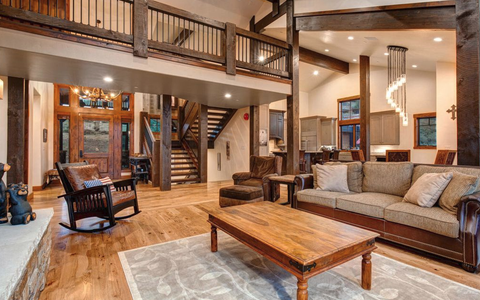 interior home in Park City, UT