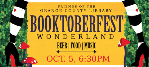 poster for Booktoberfest