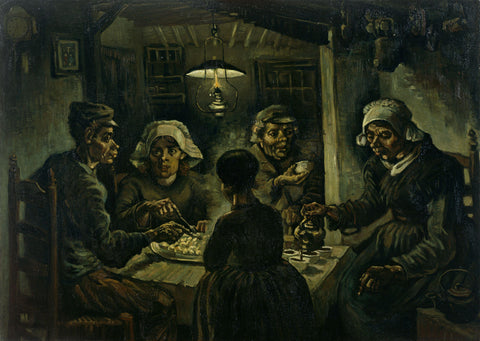 Van Gogh_Potato Eaters