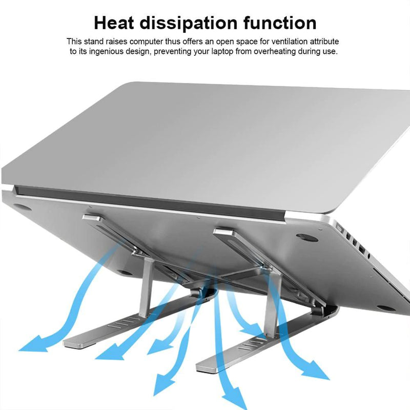 Adjustable Foldable Laptop Stand-Gear & Gadgets & Tools-GREY Style