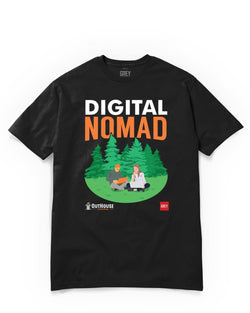Digital Nomad Duo (GREY X Outhouse)-Black-XS-GREY Style