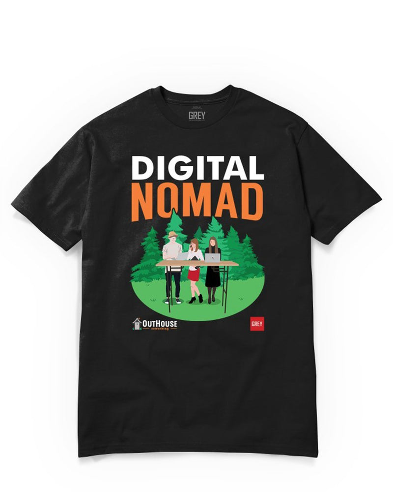 Digital Nomad Trio (GREY X Outhouse)-Black-XS-GREY Style