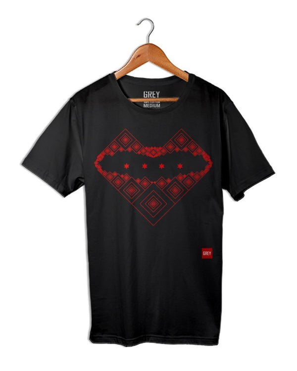Golden Kiss Tee-Do Not Show-Black-XS-GREY Style