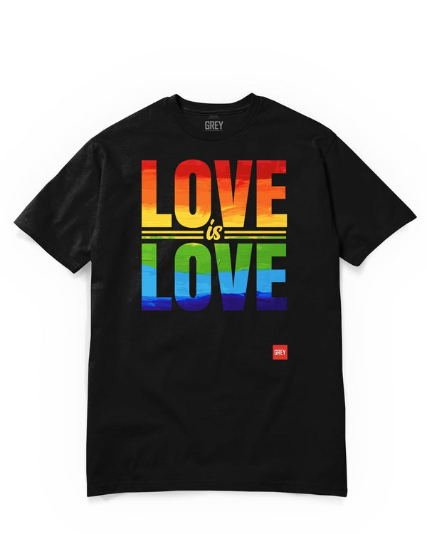 Love Is Love Tee - In Collab With Howard Brown Health-T-Shirt-Black-XS-GREY Style