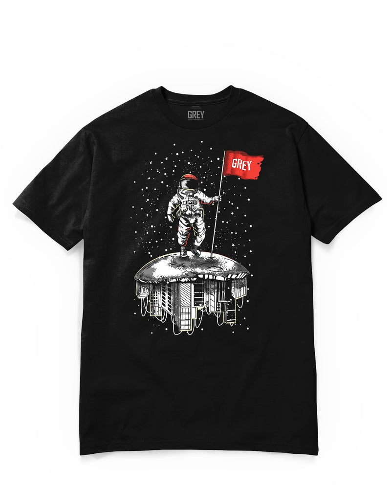 Propellant Astronaut Tee-T-Shirt-Black-XS-GREY Style