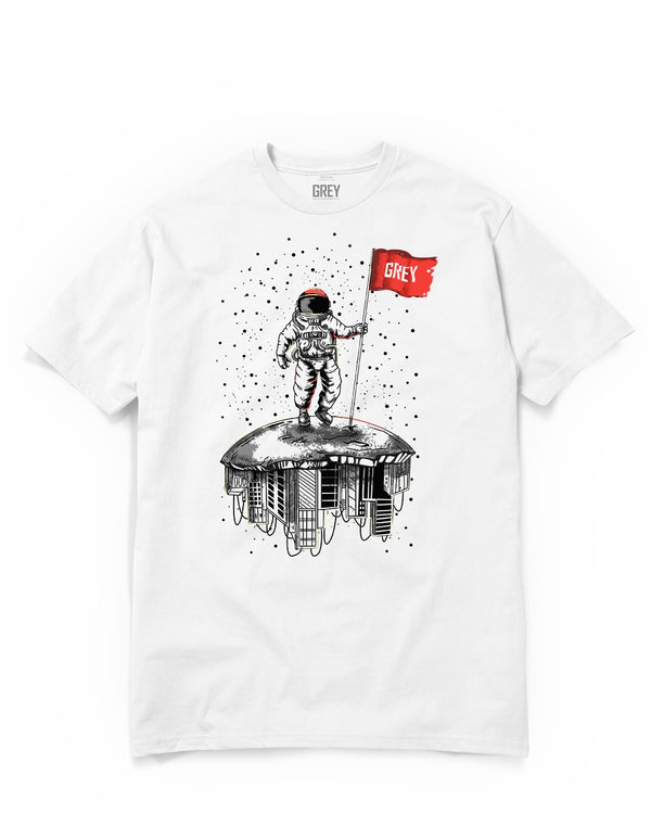 Propellant Astronaut Tee-T-Shirt-White-XS-GREY Style