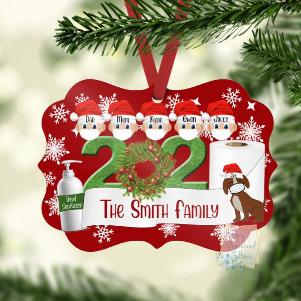 Christmas 2020 Personalized Ornament