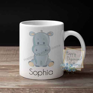 Animals Personalized Kids Unbreakable mug