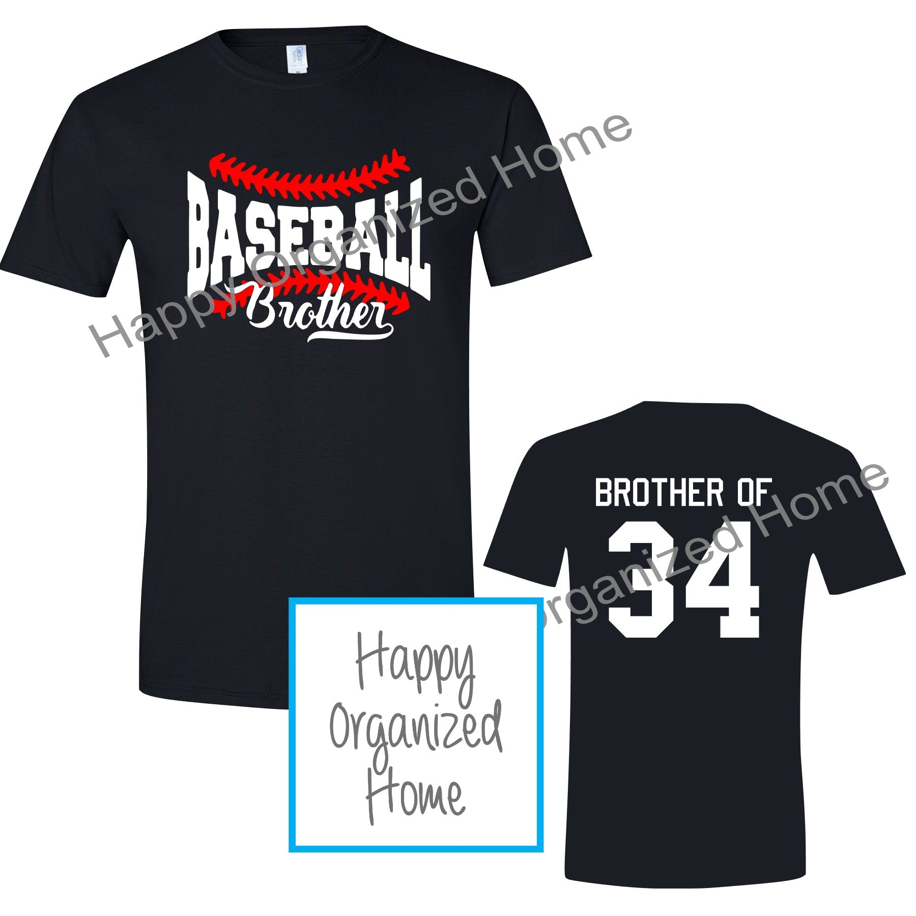 Baseball Brother Tshirt
