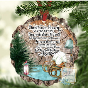 Christmas In Heaven - Christmas Ornament