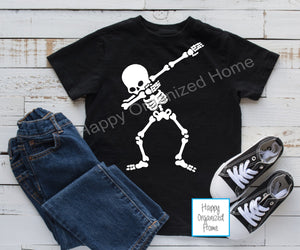 Dabbing Skeleton - Kids tshirt