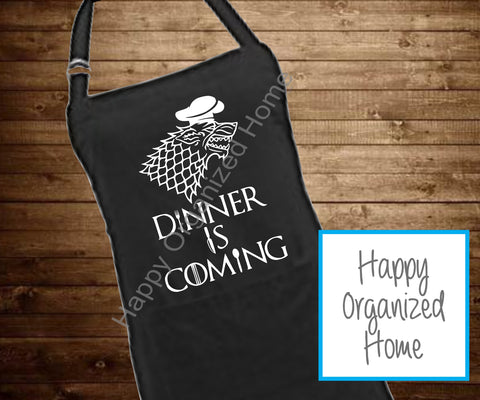 Dinner is coming - BBQ Apron