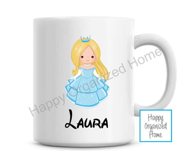 Princess Personalized Kids Unbreakable mug