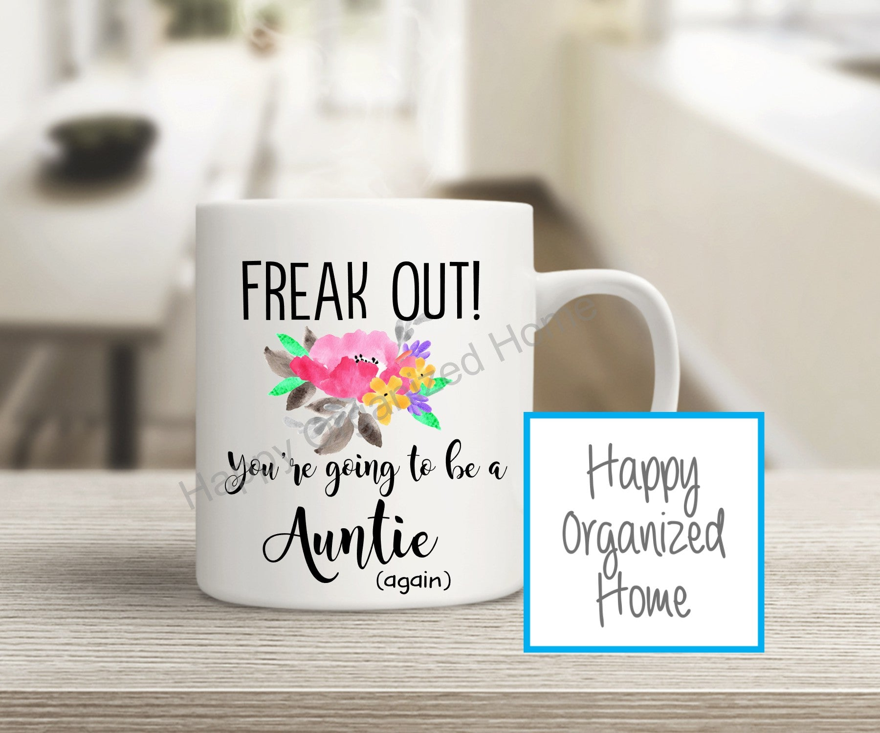 Freak Out! You're going to be a Auntie Again!