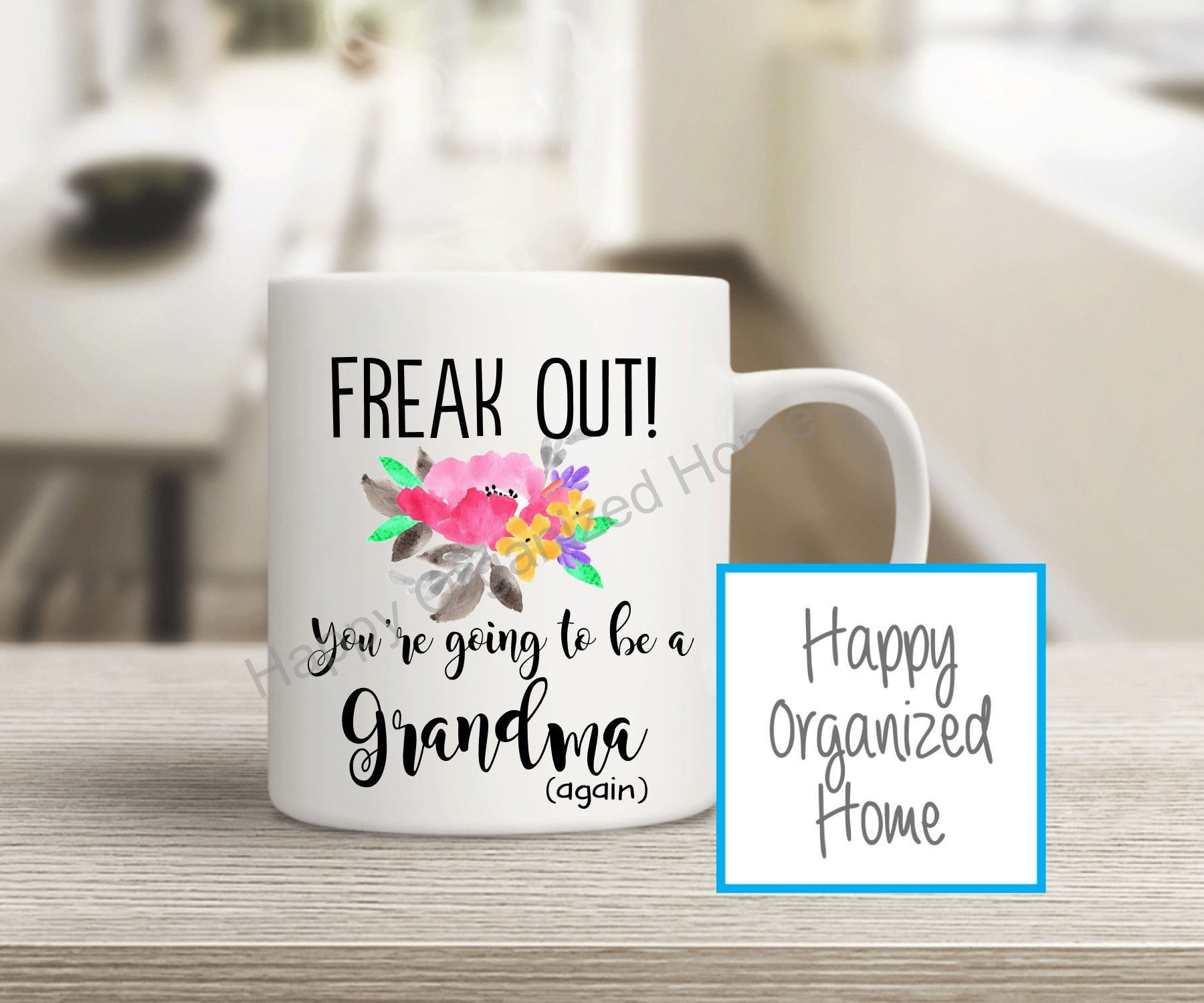 Freak Out! You're going to be a Grandma Again!