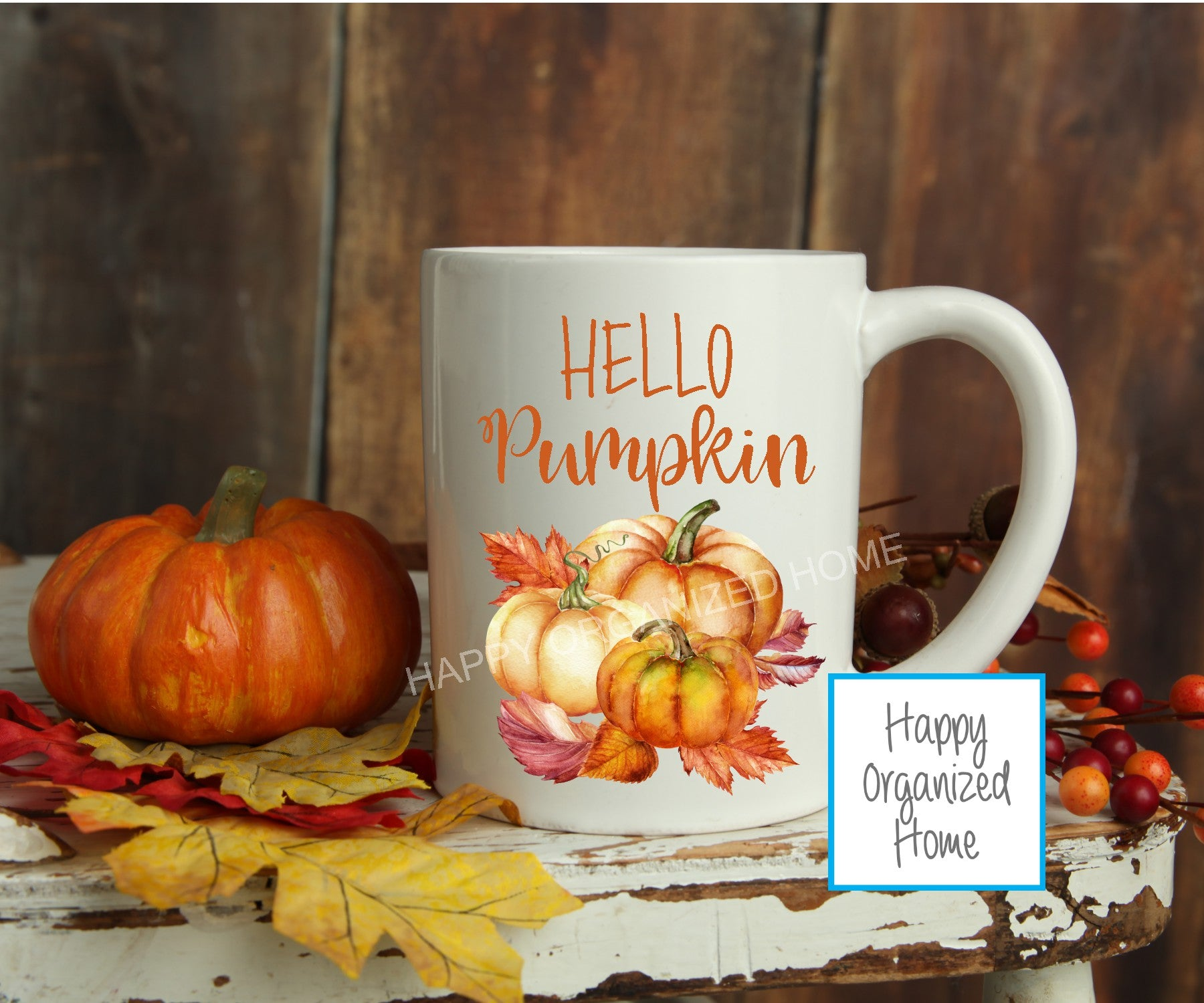 Hello Pumpkin - Fall Mug