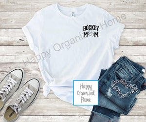Hockey Mom - Ladies Relaxed Fit T-shirt