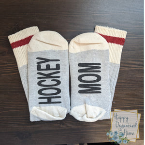 Hockey Mom - Ladies Socks