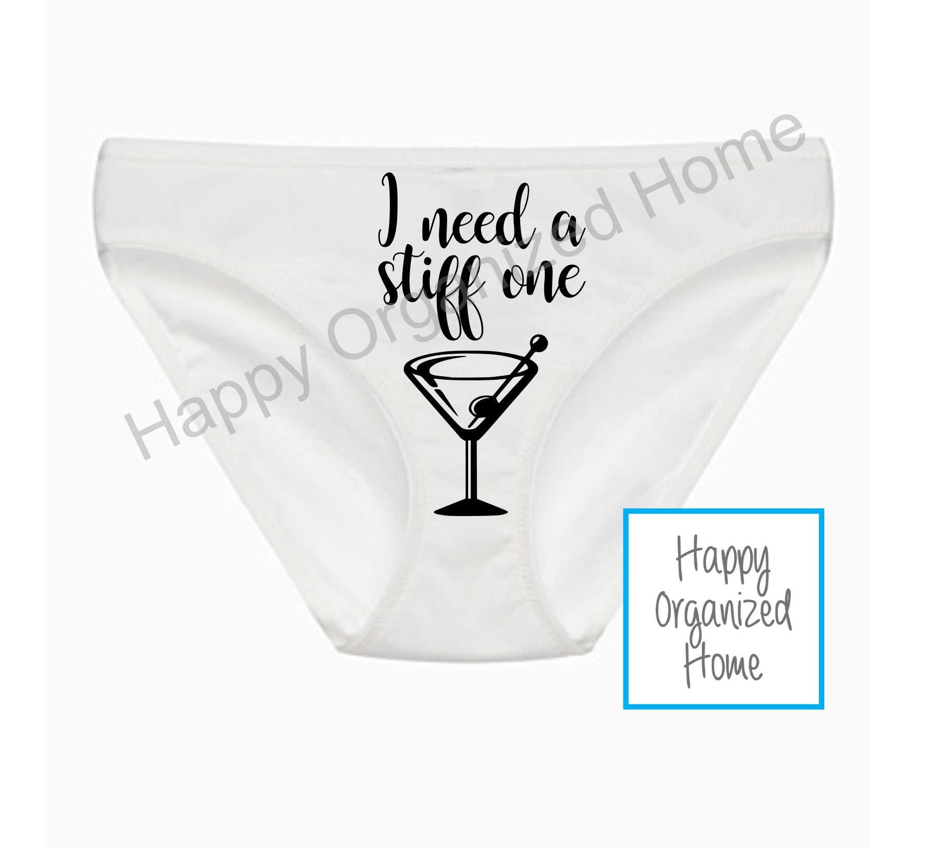 I need a Stiff one - Ladies Bikini Panties