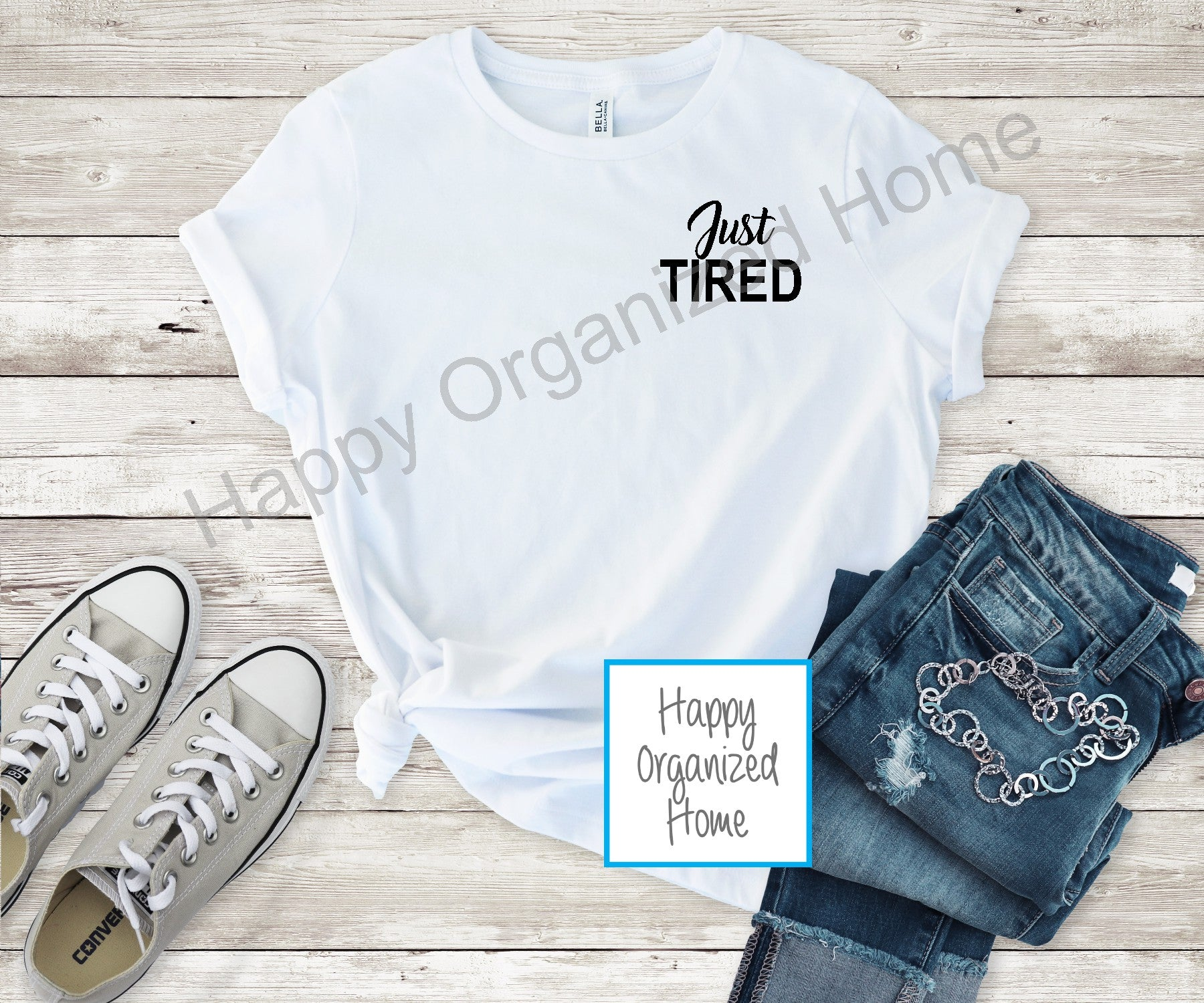 Just Tired - Ladies Relaxed Fit T-shirt