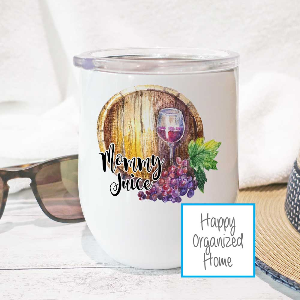 Mommy Juice  - Insulated Wine Tumbler