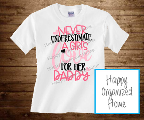 Never Underestimate A Girls Love for her Daddy