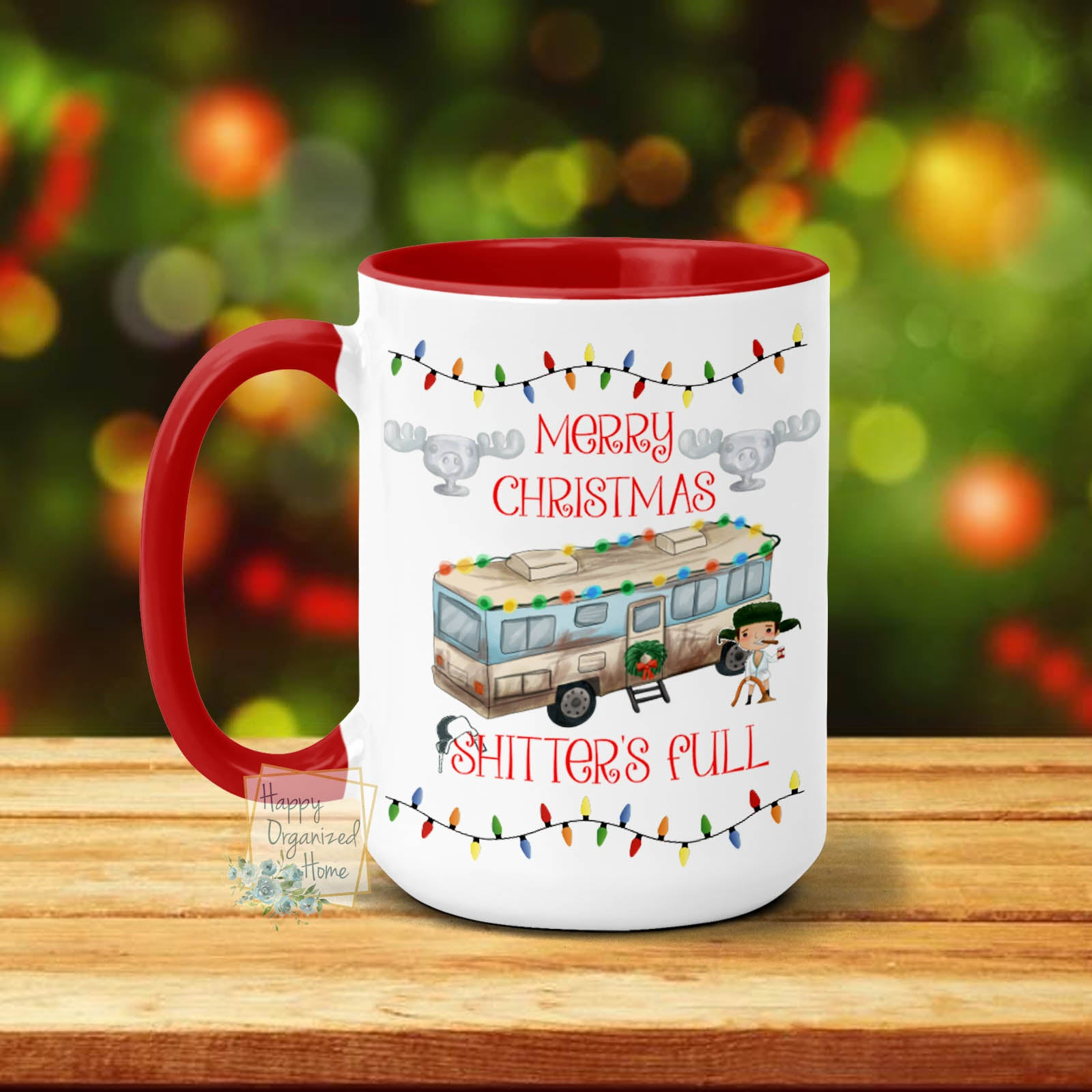 Merry Christmas Shitter's Full  - Christmas Mug