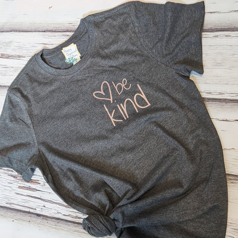 Be kind - Rose Gold print, tshirt