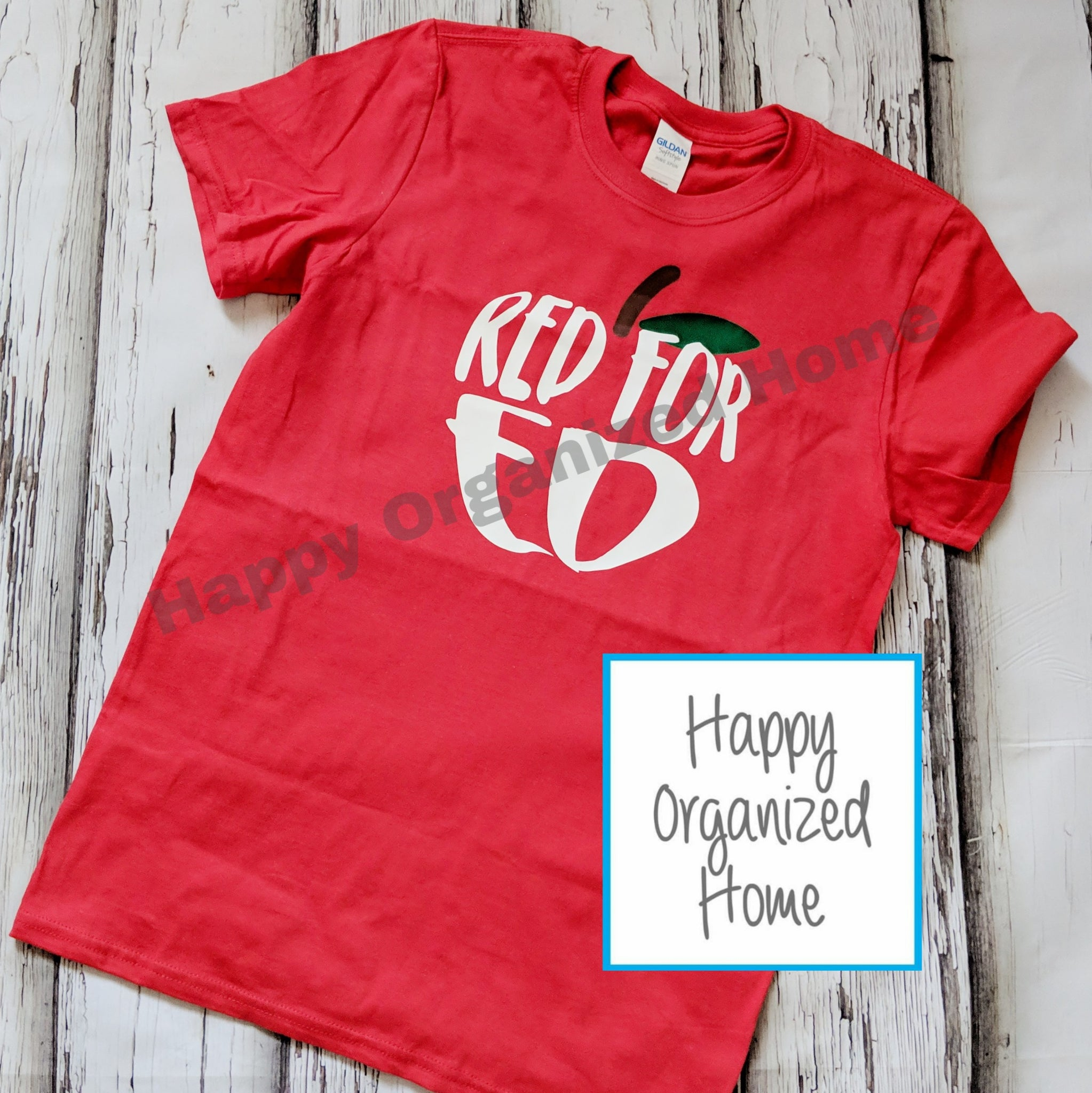 Red for Education Unisex Tshirt