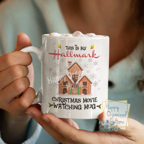This is my Christmas movie watching mug - Christmas Mug