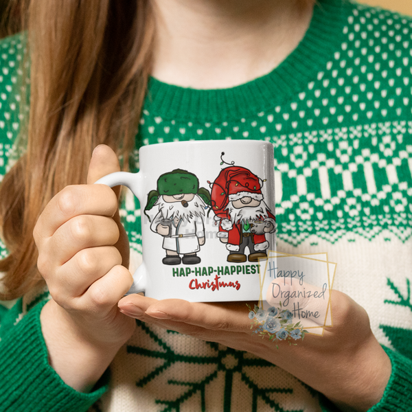 Hap Hap Happiest Christmas  - Christmas Mug