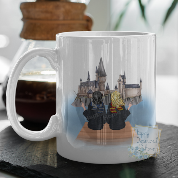 Wizard girls Best Friends - Custom Mugs