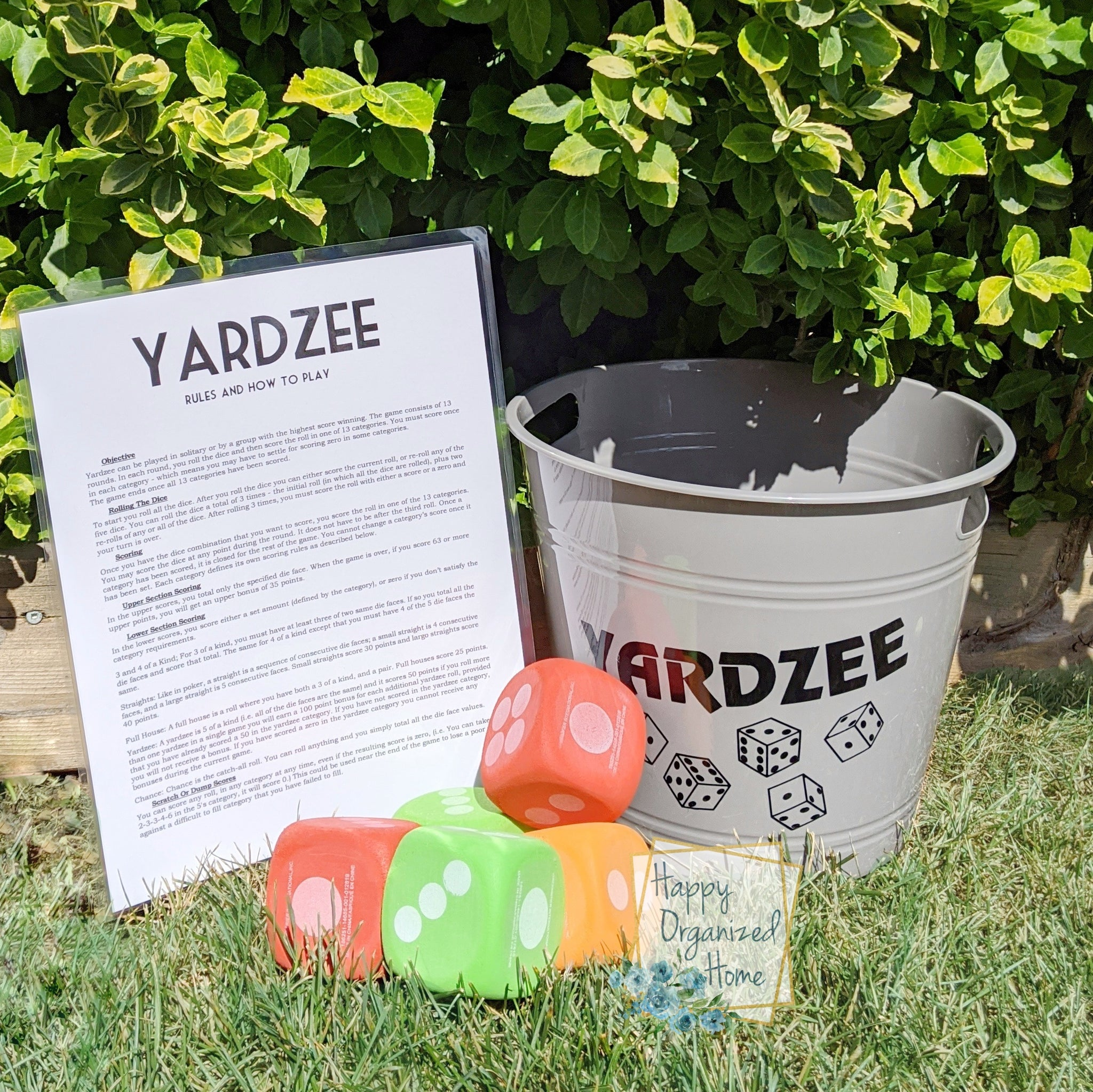 Yardzee Outdoor Fun