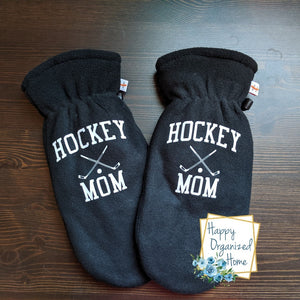 Hockey Mom - Mittens