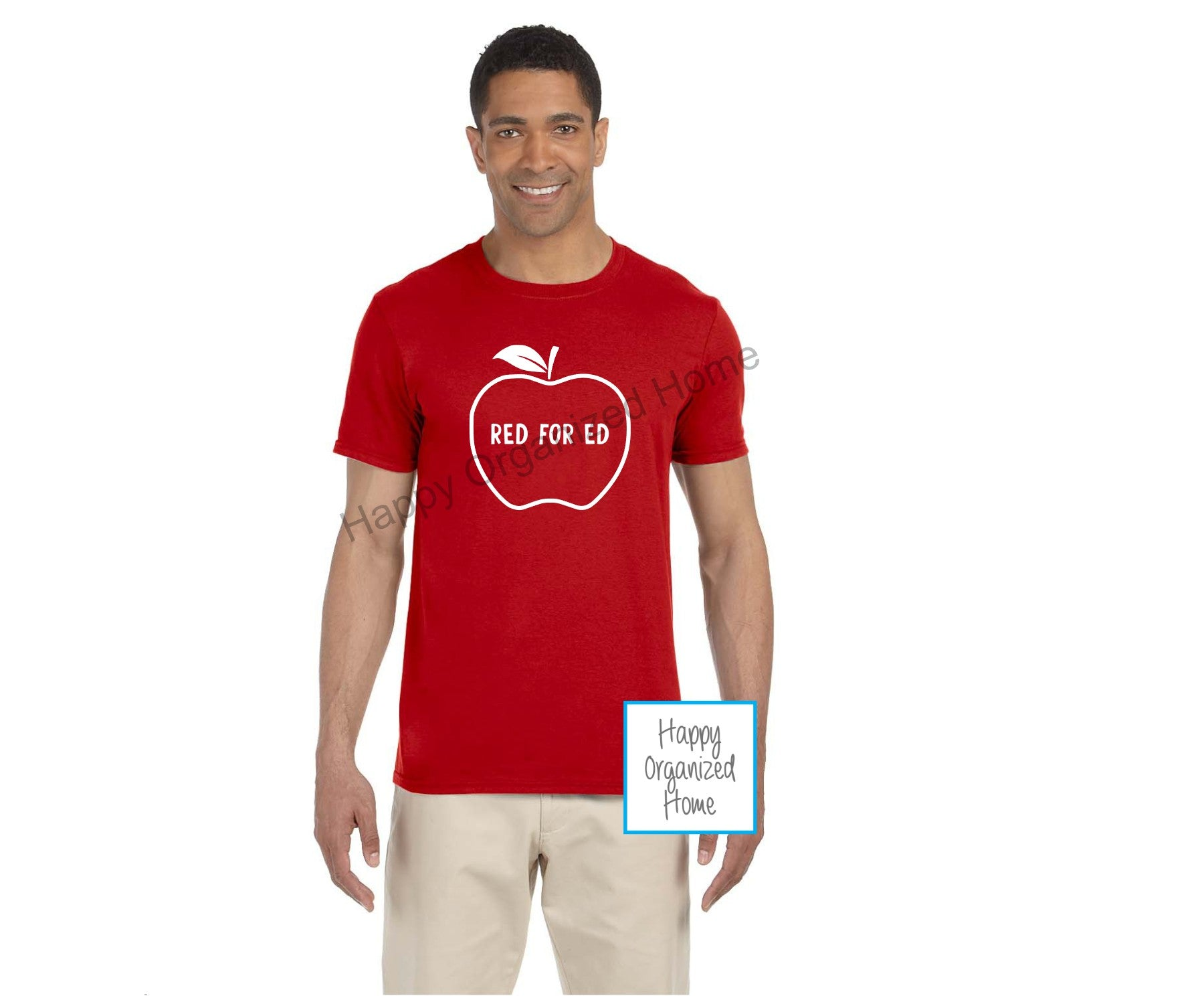 Red for Education Apple Unisex Tshirt