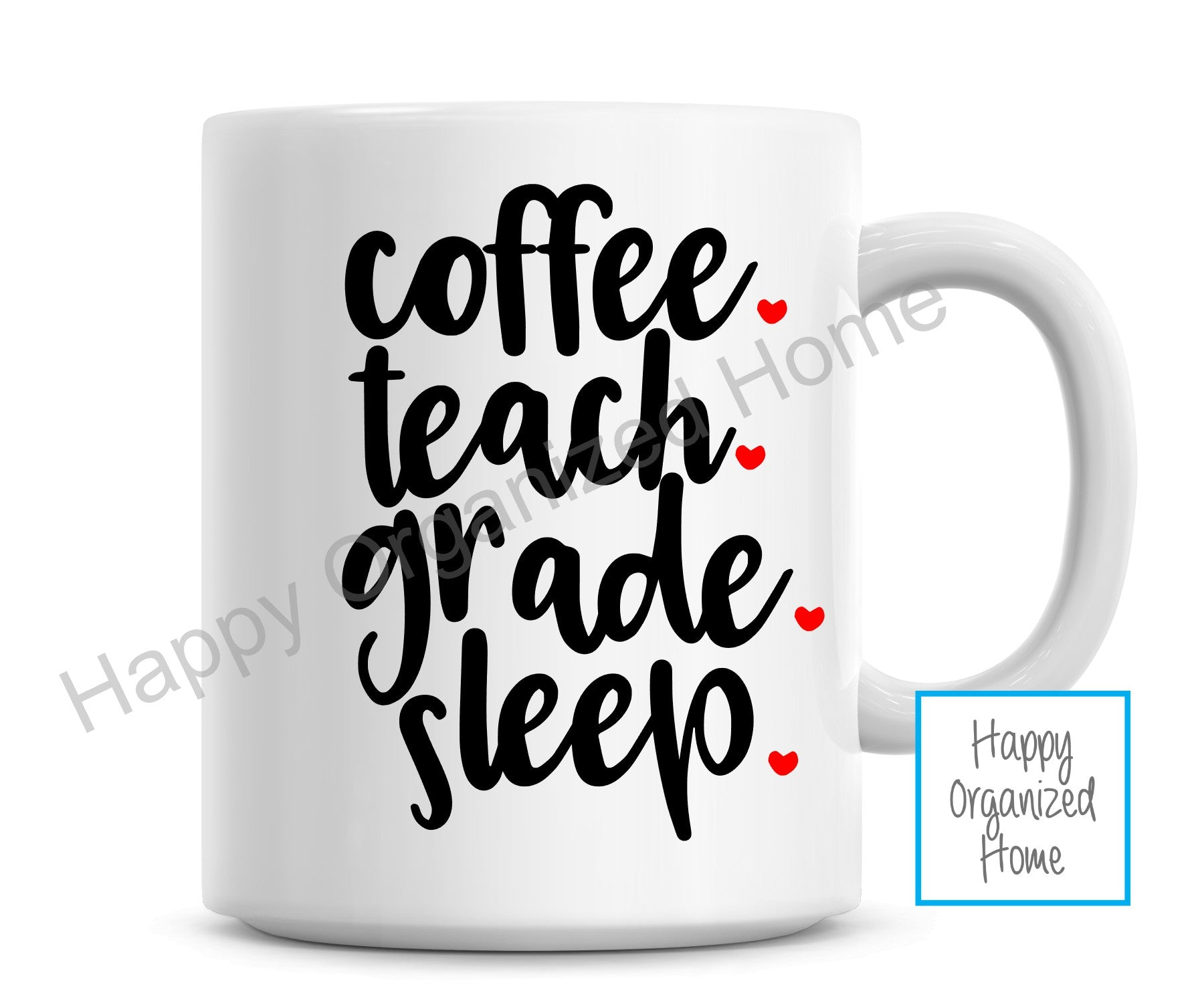 Coffee Teach Grade Sleep Mug
