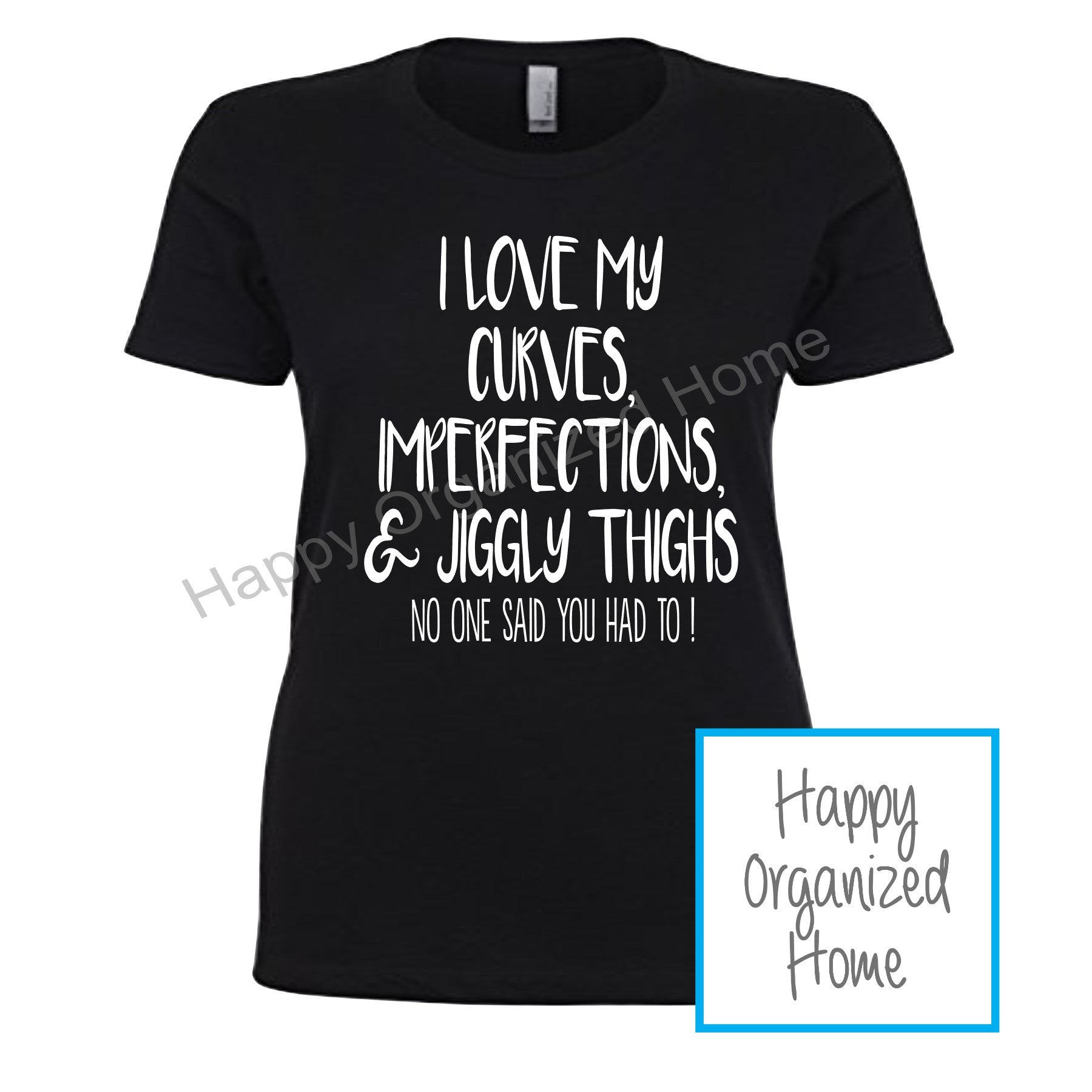I love my Curves - Ladies t-shirt